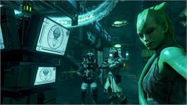 In game image of Prey 2 on the Microsoft Xbox 360.