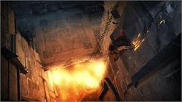 In game image of Prince of Persia on the Microsoft Xbox 360.