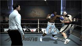 In game image of Prizefighter on the Microsoft Xbox 360.