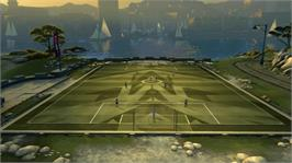 In game image of Pure Futbol on the Microsoft Xbox 360.