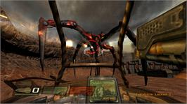 In game image of QUAKE 4 on the Microsoft Xbox 360.