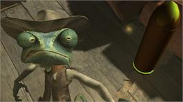 In game image of Rango on the Microsoft Xbox 360.