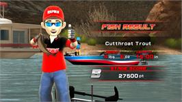 In game image of Rapala® for Kinect on the Microsoft Xbox 360.