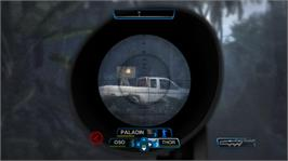 In game image of Raven Squad on the Microsoft Xbox 360.