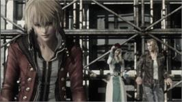 In game image of Resonance of Fate on the Microsoft Xbox 360.