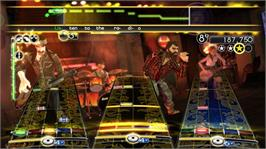 In game image of Rock Band Country Pack on the Microsoft Xbox 360.