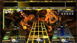 In game image of Rock Band Metal Pack on the Microsoft Xbox 360.