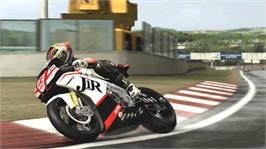 In game image of SBK®X on the Microsoft Xbox 360.