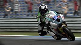 In game image of SBK on the Microsoft Xbox 360.