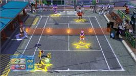 In game image of SEGA Superstars Tennis on the Microsoft Xbox 360.
