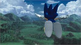 In game image of SONIC THE HEDGEHOG on the Microsoft Xbox 360.