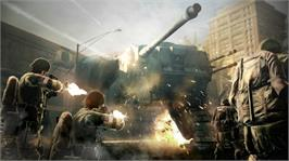 In game image of STEEL BATTALION HEAVY ARMOR on the Microsoft Xbox 360.