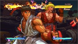 In game image of STREET FIGHTER X TEKKEN on the Microsoft Xbox 360.