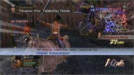In game image of SW2 Empires on the Microsoft Xbox 360.
