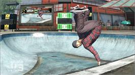 In game image of Skate 3 on the Microsoft Xbox 360.