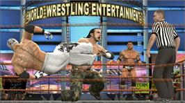 In game image of SmackDown vs. RAW 2009 on the Microsoft Xbox 360.