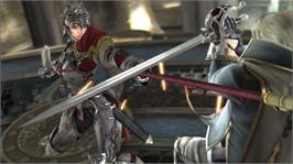 In game image of Soulcalibur IV on the Microsoft Xbox 360.