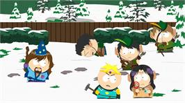 In game image of South Park: The Stick of Truth on the Microsoft Xbox 360.