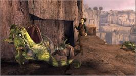 In game image of Spiderwick Chronicles on the Microsoft Xbox 360.