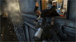 In game image of SplinterCellConviction on the Microsoft Xbox 360.