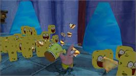 In game image of SpongeBob: Truth-Sq. on the Microsoft Xbox 360.