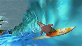 In game image of SpongeBob's Surf & Skate Roadtrip on the Microsoft Xbox 360.