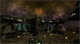 In game image of Star Raiders on the Microsoft Xbox 360.