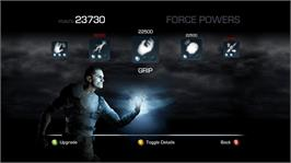 In game image of Star Wars: The Force Unleashed II on the Microsoft Xbox 360.