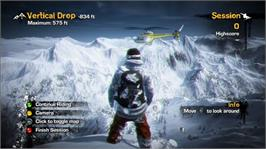 In game image of Stoked: Big Air Ed. on the Microsoft Xbox 360.