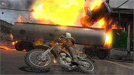 In game image of Stuntman: Ignition on the Microsoft Xbox 360.