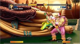 In game image of SuperStreetFighter2THD on the Microsoft Xbox 360.