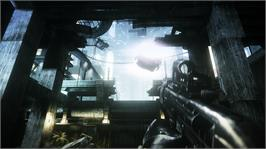 In game image of Syndicate on the Microsoft Xbox 360.