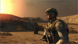 In game image of TC's GRAW2 on the Microsoft Xbox 360.