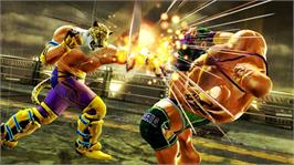 In game image of TEKKEN 6 on the Microsoft Xbox 360.