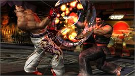In game image of TEKKEN TAG TOURNAMENT 2 on the Microsoft Xbox 360.
