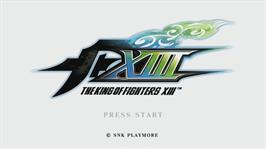 In game image of THE KING OF FIGHTERS XIII on the Microsoft Xbox 360.