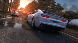 In game image of Test Drive Unlimited 2 on the Microsoft Xbox 360.