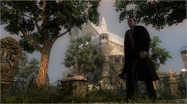 In game image of Testament of Sherlock Holmes on the Microsoft Xbox 360.