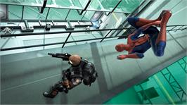 In game image of The Amazing Spider-Man on the Microsoft Xbox 360.
