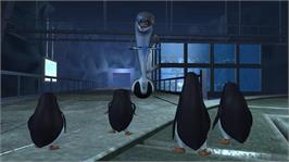 In game image of The Penguins of Madagascar on the Microsoft Xbox 360.
