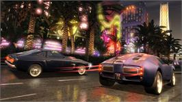 In game image of This is Vegas on the Microsoft Xbox 360.