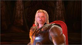 In game image of Thor: God of Thunder on the Microsoft Xbox 360.