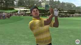In game image of TigerWoodsPGATOUR®07 on the Microsoft Xbox 360.
