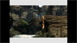 In game image of Tomb Raider:Legend on the Microsoft Xbox 360.