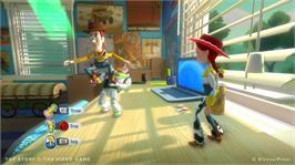 In game image of Toy Story 3 on the Microsoft Xbox 360.
