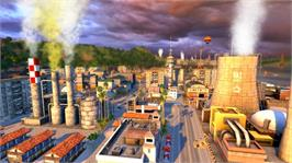 In game image of Tropico 4 on the Microsoft Xbox 360.