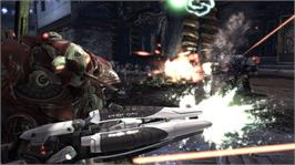 In game image of Unreal Tournament® 3 on the Microsoft Xbox 360.