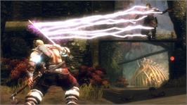 In game image of Viking on the Microsoft Xbox 360.