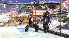 In game image of Virtua Fighter 5 on the Microsoft Xbox 360.