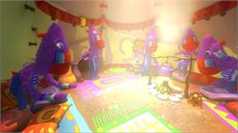 In game image of Viva Piñata on the Microsoft Xbox 360.